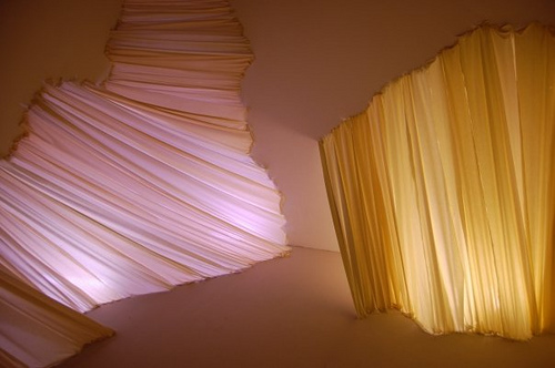 fabric + light installation | Lewis Center | Flickr – Photo Sharing!