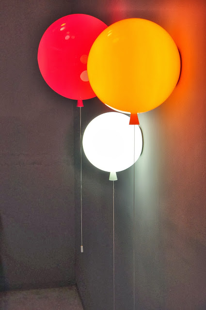 Memory Lamps: Colorful Lamps Designed Like Balloons –