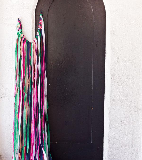 DIY Surprise Streamer Door for Birthdays   Studio DIY®