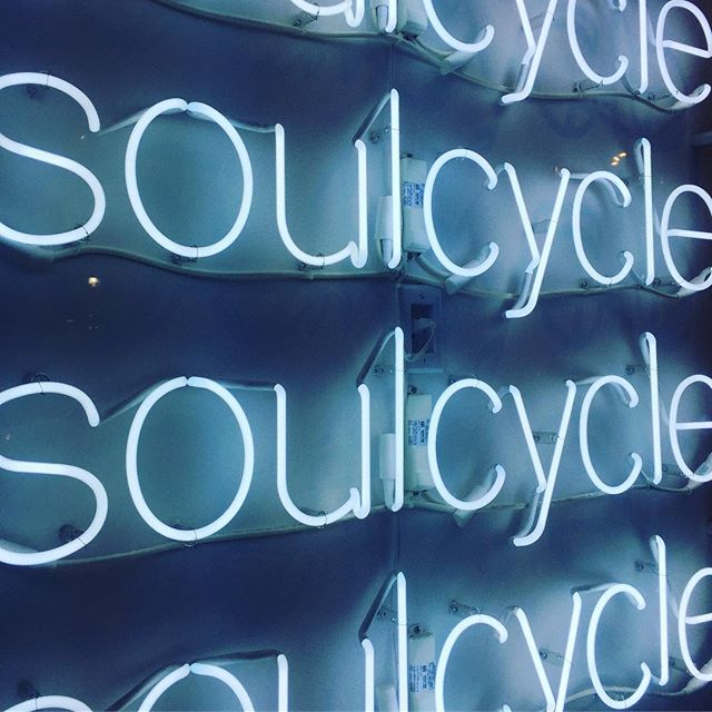 nothing beats some soul with your cycle at 7am!