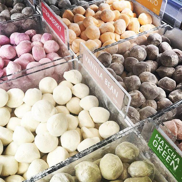 mochi ice cream balls!