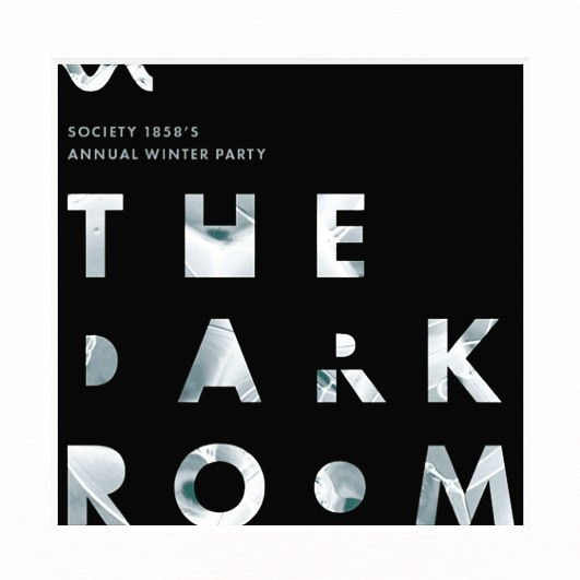 #society1858 winter party, #thedarkroom is a week away. get you tickets while they last. guaranteed to be amazing!